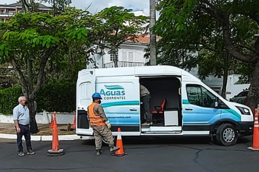 Aguas de Corrientes: Nuevo equipo de video inspección de cañerías