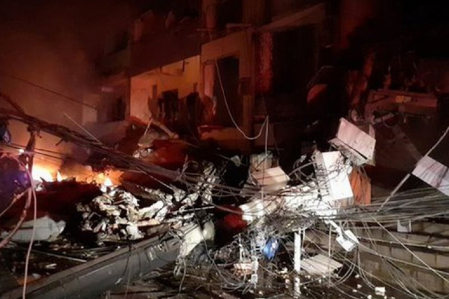 Se derrumbó un edificio en Río de Janeiro y hay personas bajo los escombros