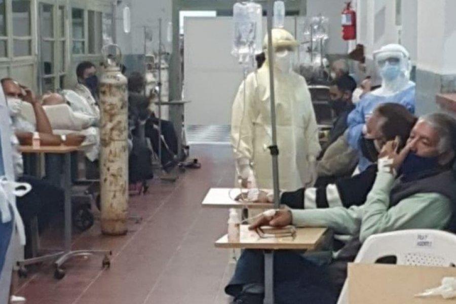 Hospital de Campaña al extremo: Más de 400 internados