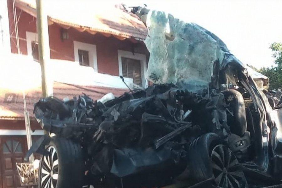 Trágico choque: Una de las víctimas era hermano de un empresario correntino
