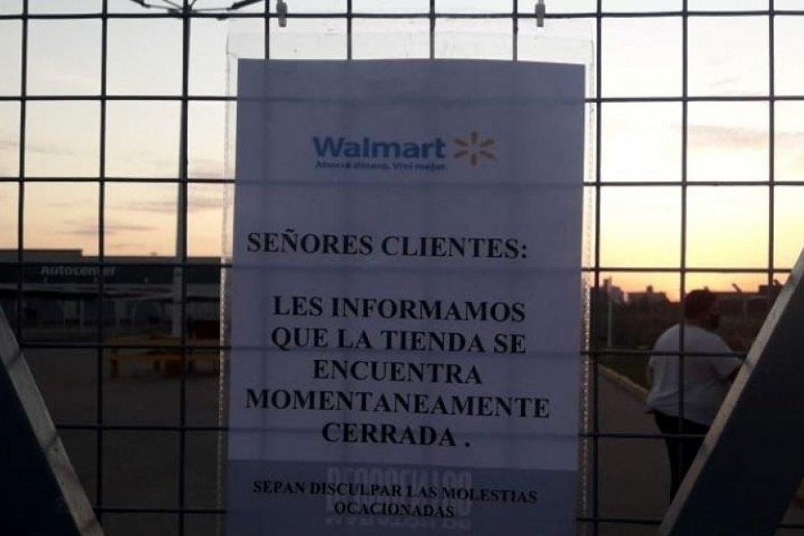 Cerraron la sucursal de Walmart en Corrientes por brote de COVID