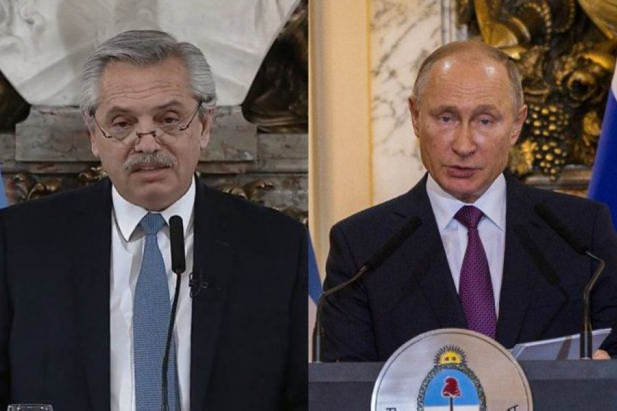 Alberto Fernández y Vladimir Putin anuncian mañana la producción local de la vacuna Sputnik V