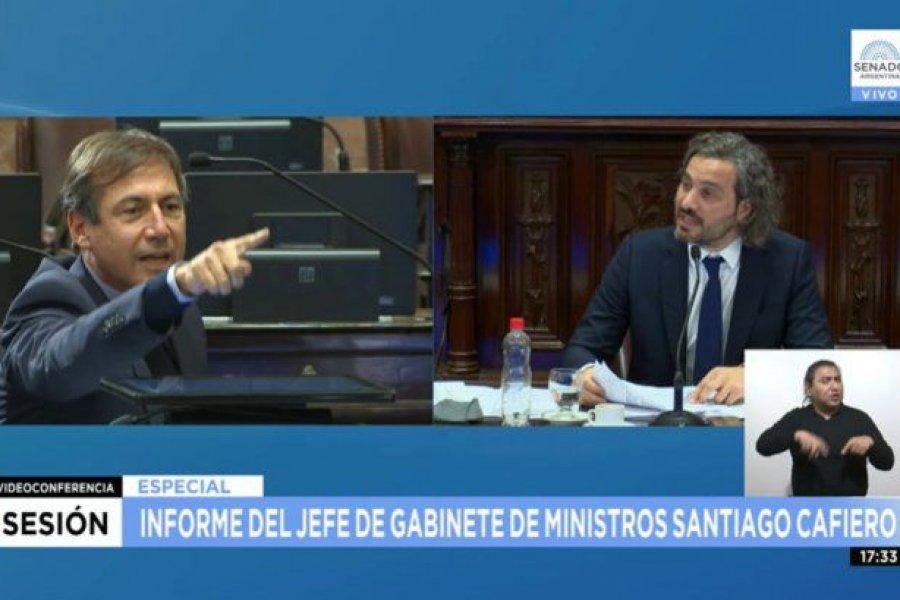 """Fuerte cruce entre Cafiero y Naidenoff sobre vacunas: """"Lean lo que votan"""""""