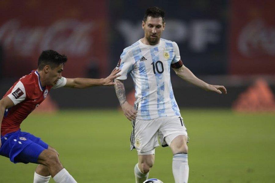 La Selección Argentina no pasó del empate contra Chile