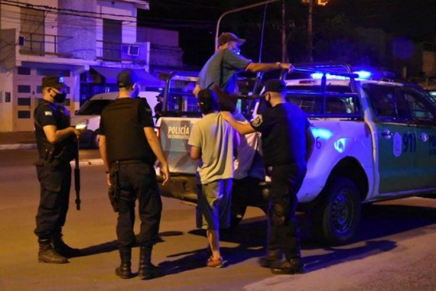 Varias personas demoradas durante operativos de control policial