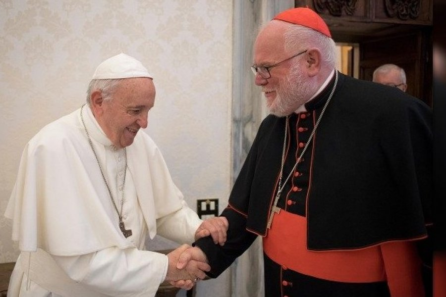 Renuncia el cardenal Marx tras reconocer corresponsabilidad en la gestión de casos de abusos