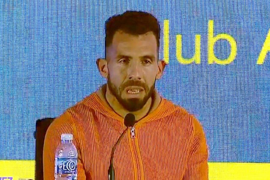"""Carlos Tevez se va de Boca, entre lágrimas: """"Mi sangre siempre será azul y amarilla"""""""