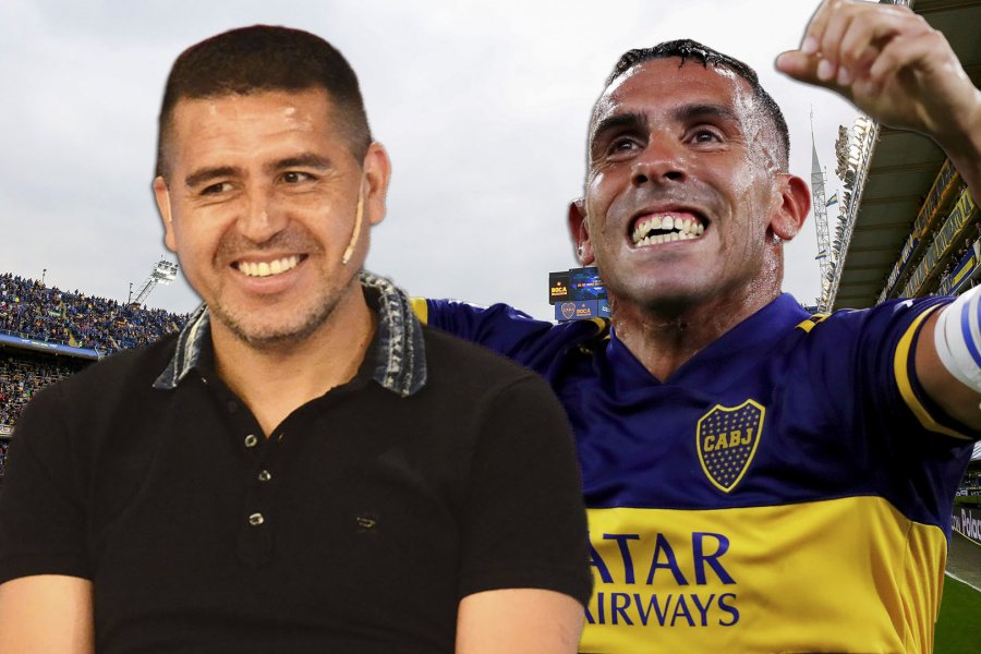 """Riquelme y la salida de Tevez de Boca: """"Dio todo lo que podía dar, ya le estaba empezando a costar"""""""