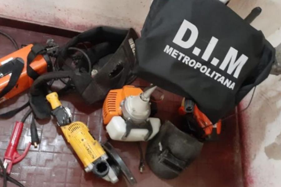 Detenidos por robar herramientas de una Delegación Municipal