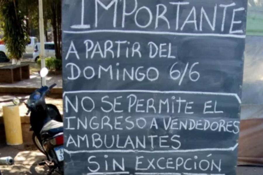 Mercado: Cierran los bares y prohíben los vendedores ambulantes