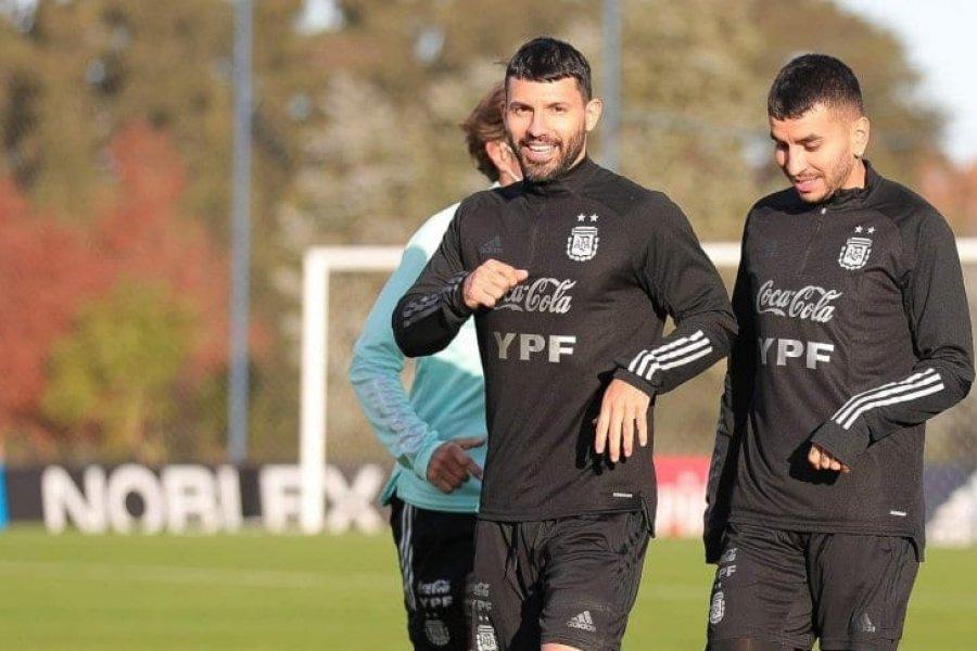 Selección Argentina: Agüero se sumó al grupo y viajaría a Colombia