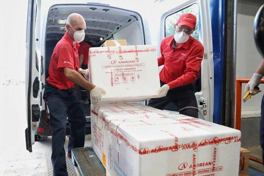 Corrientes recibirá 28.125 dosis de la vacuna Sputnik V producidas en el país