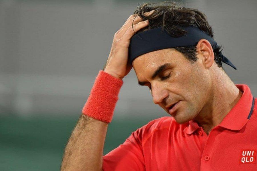 Roger Federer se retiró de Roland Garros