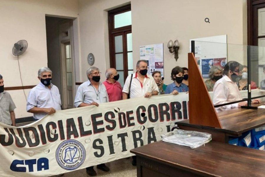 Judiciales exigen al STJ que siga lineamientos de Provincia