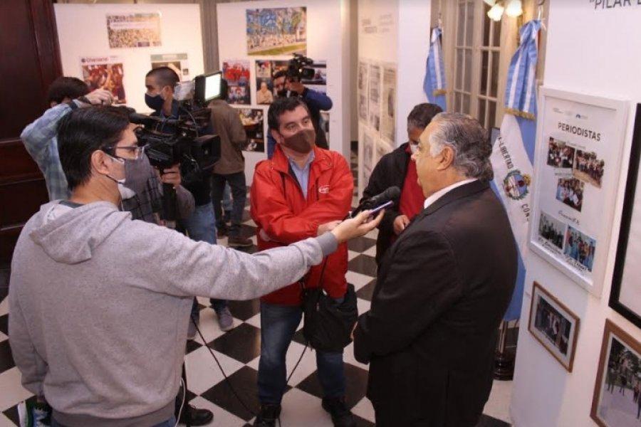 Diputados inauguró la muestra Periodismo, pilar básico de la democracia