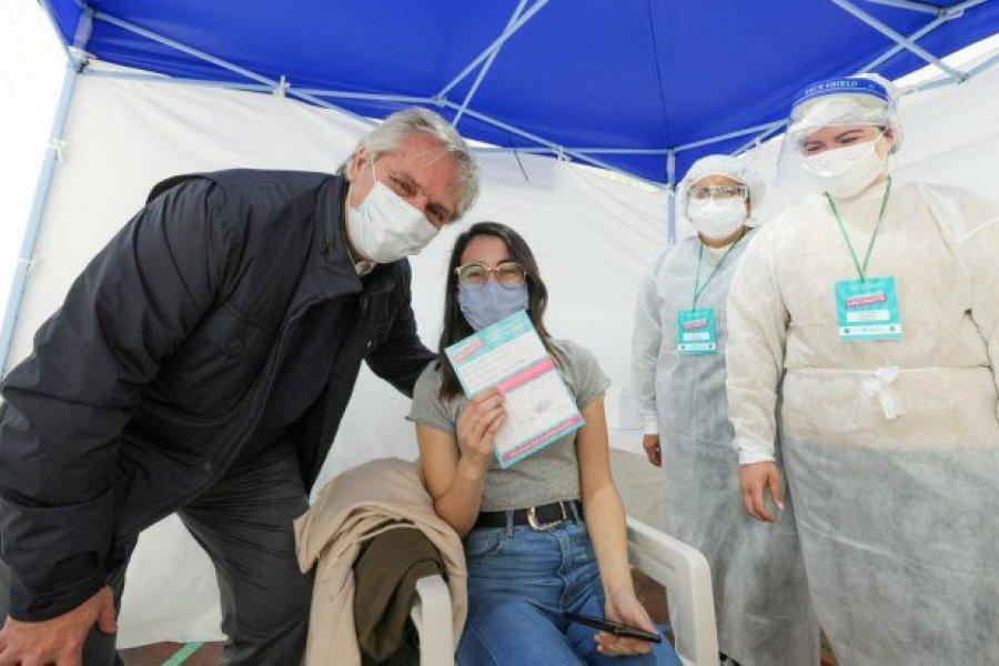 Alberto Fernández confirmó crédito de la CAF por u$s75 millones para el plan de vacunación