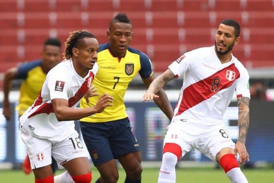 Perú sorprendió a Ecuador y lo venció de visitante