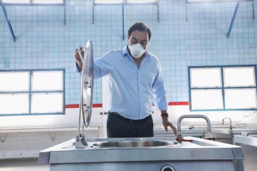 Valdés habló de una campaña política de desprestigio hacia el Hospital de Campaña