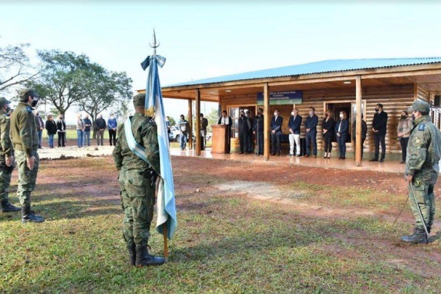 Virasoro: Se inauguró el Destacamento Policial de Seguridad Rural y Ecológica