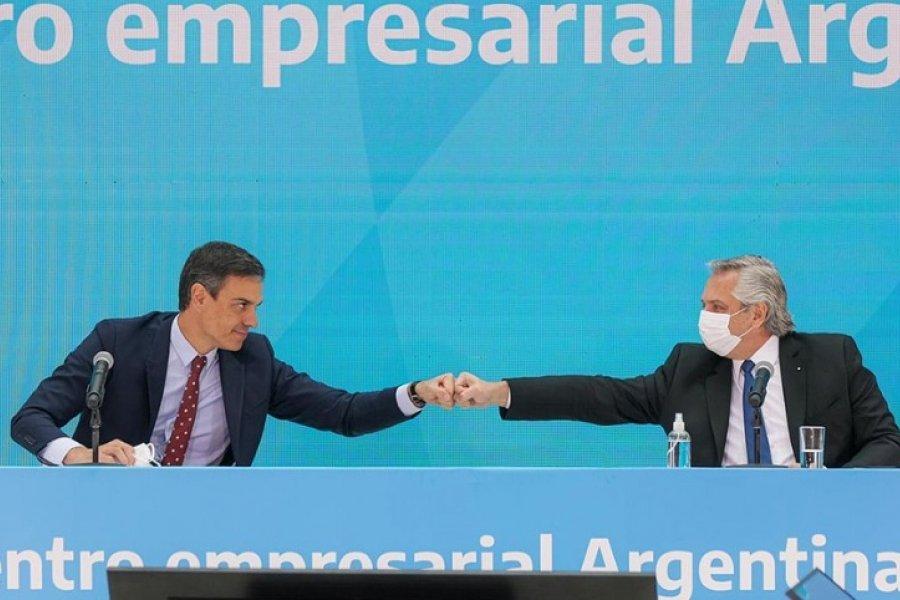 Alberto Fernández: Argentina y España tienen una oportunidad única