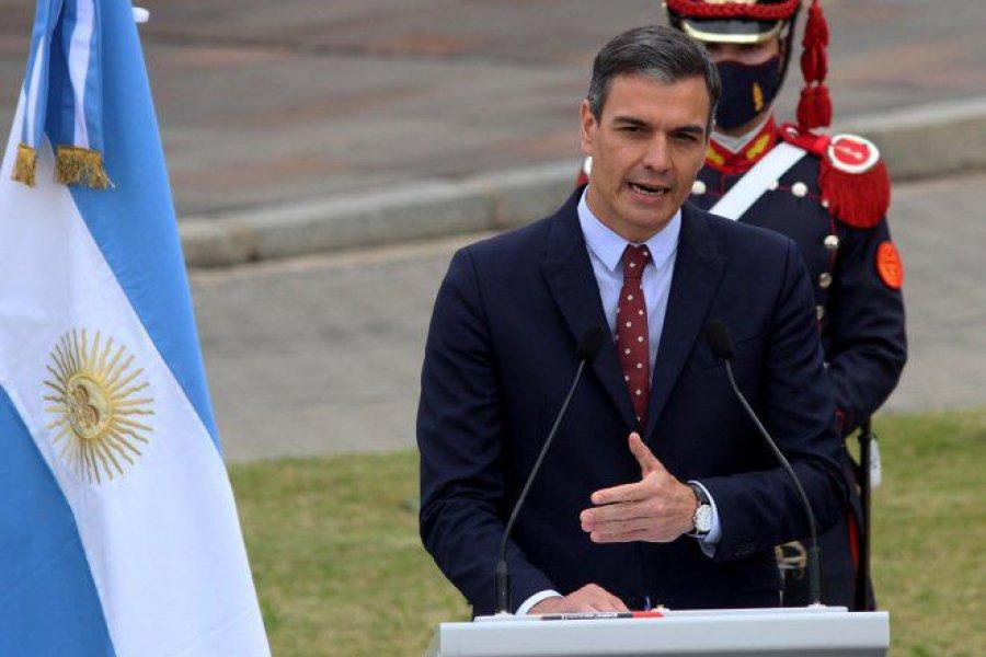 Sánchez pidió que los vacunados con Sputnik V puedan entrar a Europa