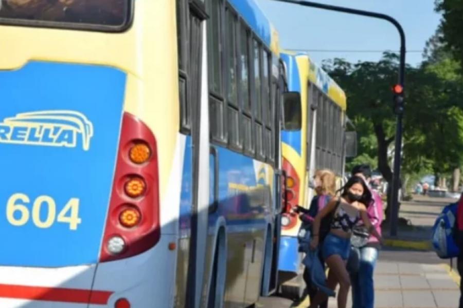 Garantizan el servicio de transporte público