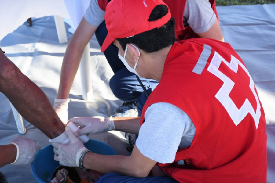 Cruz Roja Argentina: 141 años de labor humanitaria