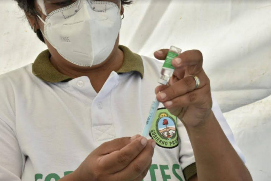 Provincia acusó a Nación de no actualizar datos de vacunación