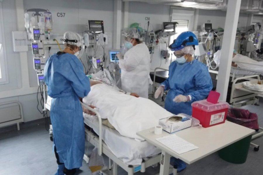 61 fallecimientos y 1.837 nuevos contagios de coronavirus en Argentina