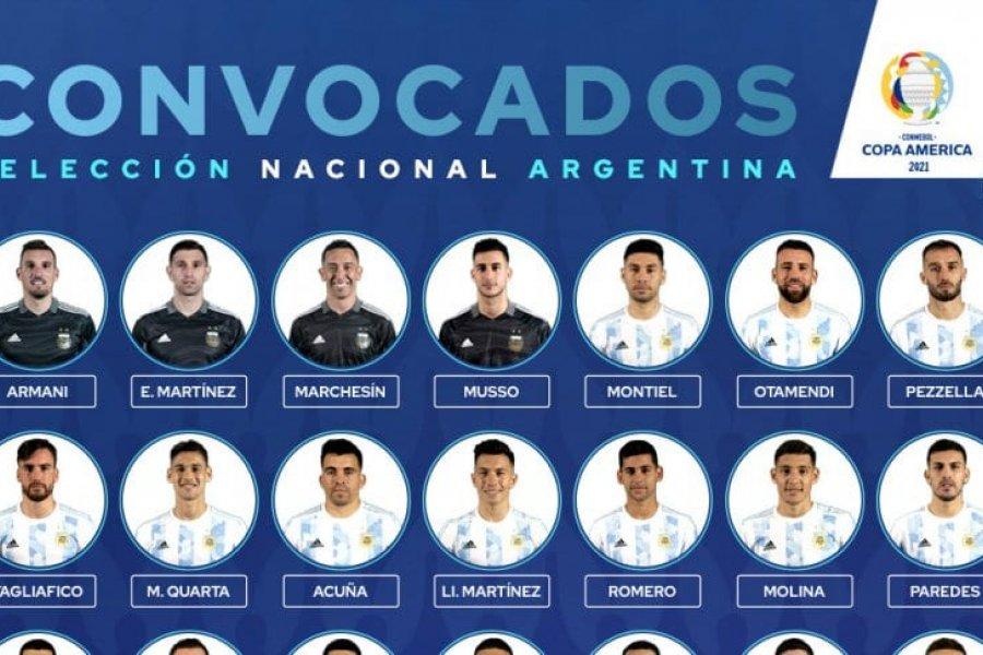 Con Álvarez y sin Alario: la lista completa para la Copa América