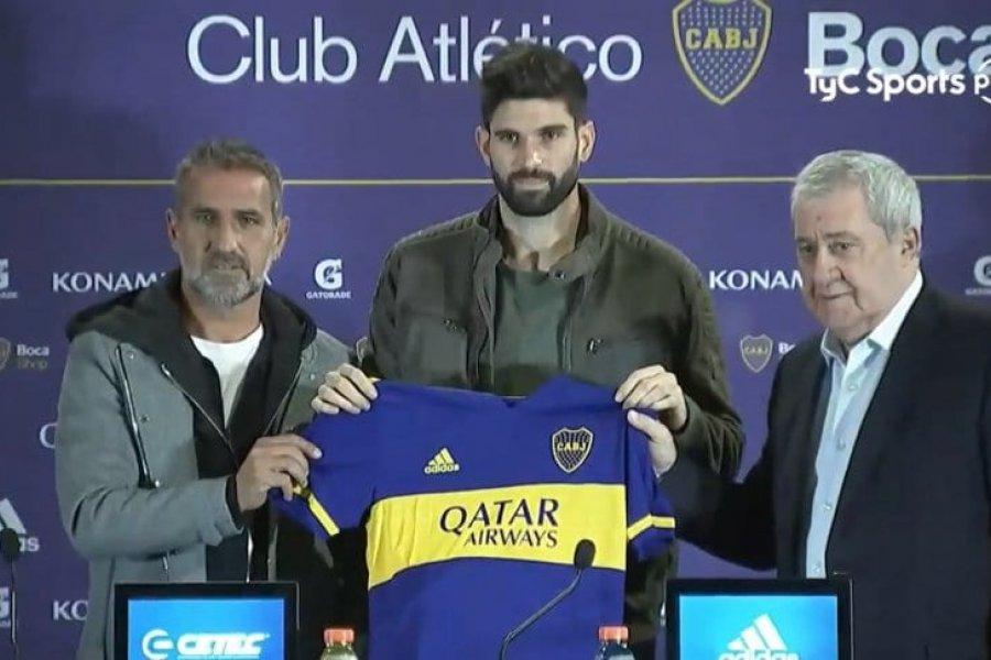Orsini ya firmó en Boca y es el primer refuerzo