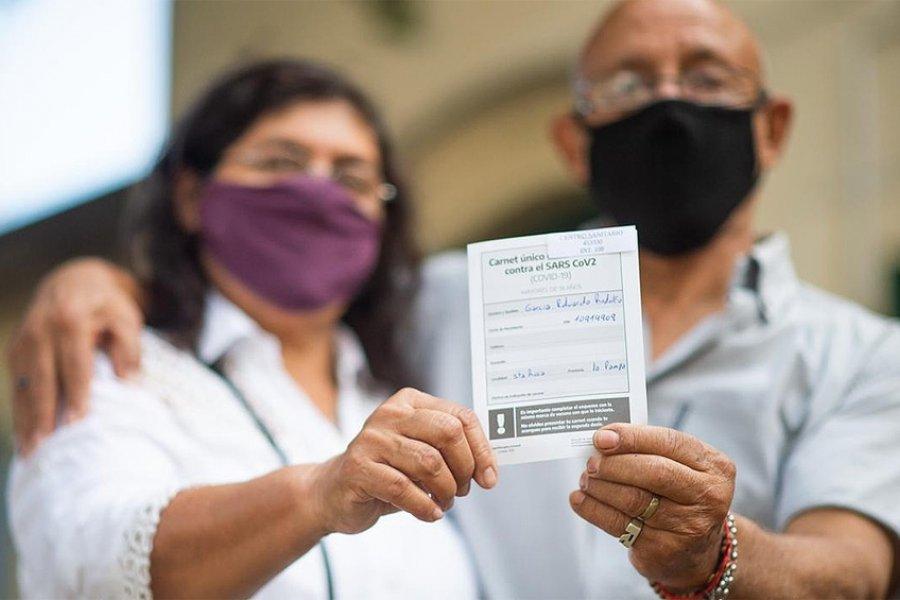 Nuevo récord del plan de vacunación: se aplicaron casi 377 mil dosis en un día