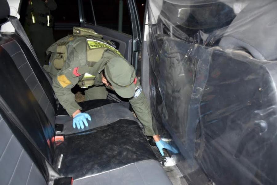 Entre Ríos: Dos pasajeros circulaban con cocaína en un remís