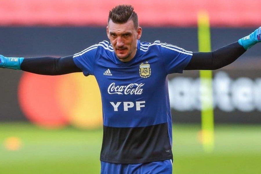 Armani volvió a dar positivo y está en duda para el debut en la Copa América