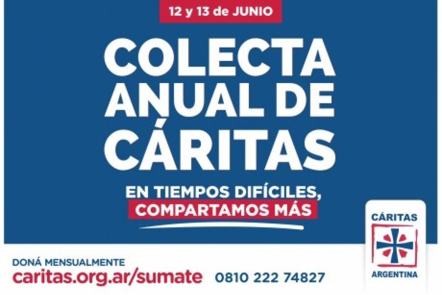 Con récord de ayuda distribuida, Cáritas Argentina lanza su tradicional Colecta Anual