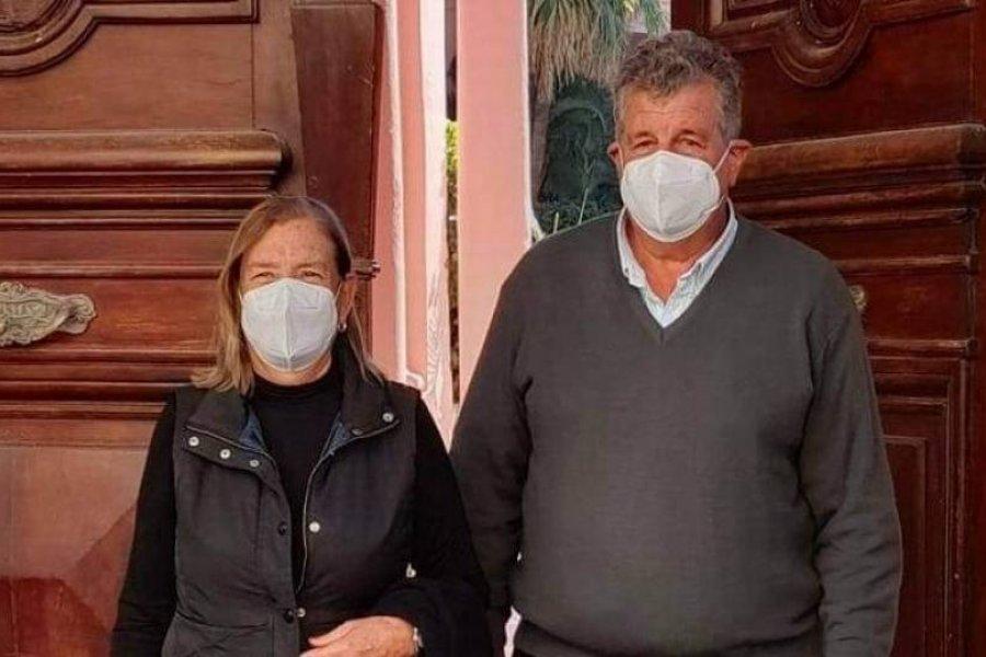 """Victor Cemborain reiteró su apoyo a Gustavo Valdés y dijo que lo ve como """"futuro presidente"""""""