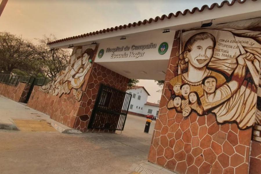 Hospital de Campaña superó los 400 internados por Covid-19