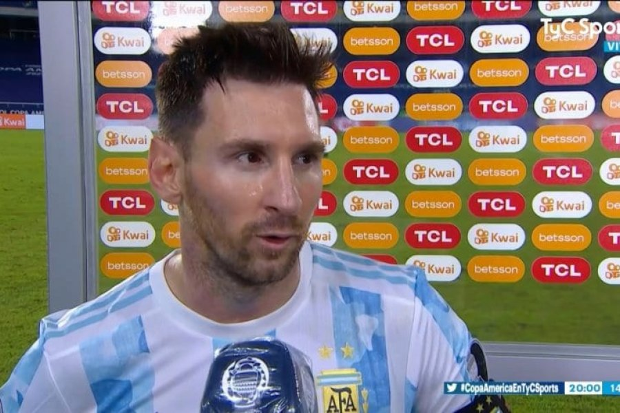 "Messi, tras el empate en Argentina- Chile: ""Nos faltó tranquilidad"""