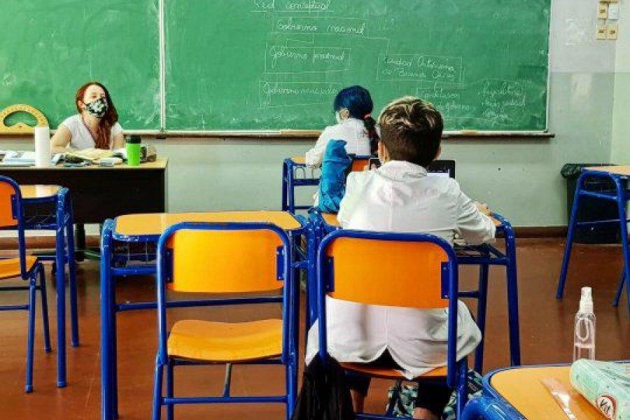 Vuelven las clases presenciales pese a la protesta de sectores docentes
