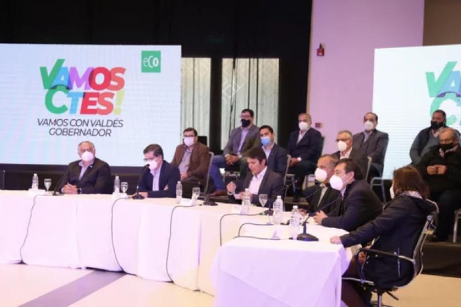 Valdés reúne a socios de ECO para el trabajo fino de la campaña