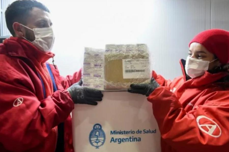 Avanza la campaña de vacunación: Este martes se distribuyen 811.100 dosis de Astrazeneca