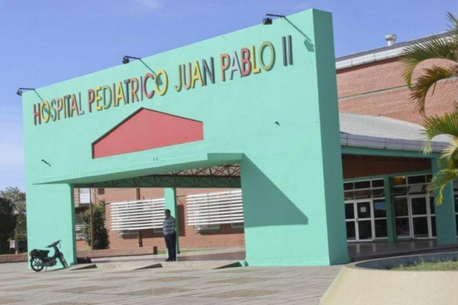 Corrientes. Hay 4 chicos internados con Covid en el Hospital Juan Pablo II