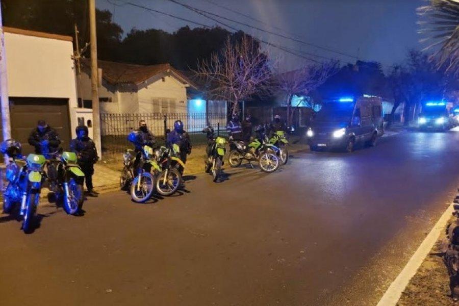 Operativos: Varias personas demoradas y motocicletas secuestradas