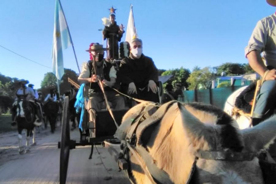 Berón de Astrada y Mburucuyá, dos localidades devotas de San Antonio Padua