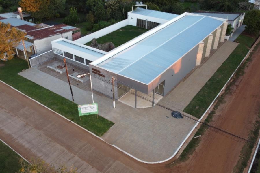 Nuevo Museo Histórico de Yapeyú en la etapa de finalización de obra