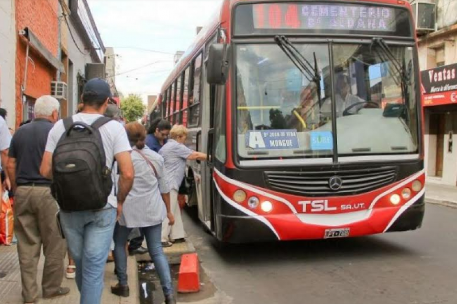 Otra amenaza de paro podría dejar sin colectivos a Corrientes