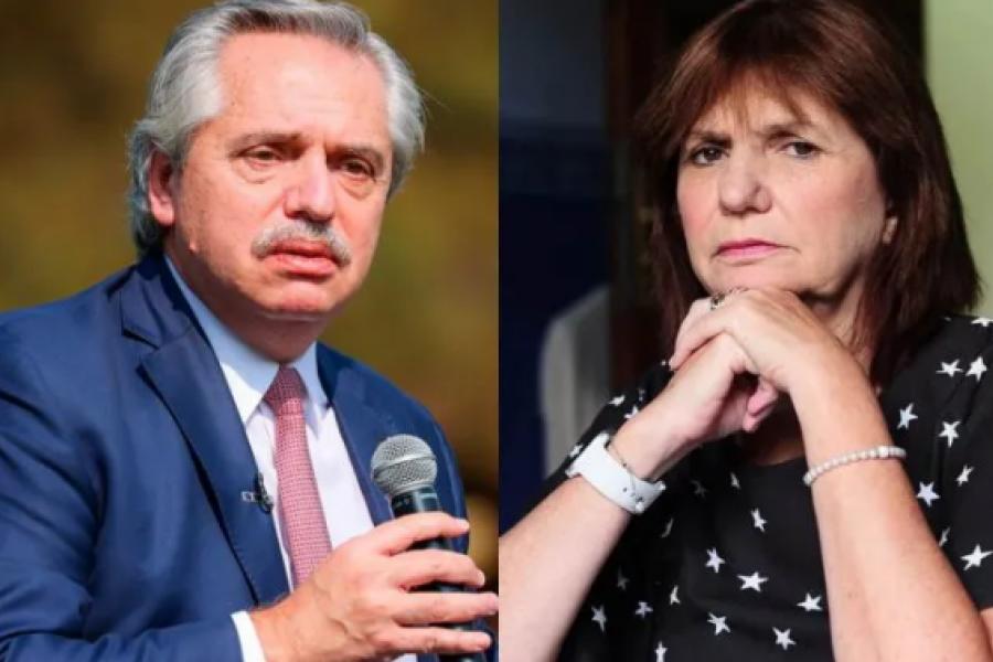 Alberto Fernández asistirá a la mediación con Patricia Bullrich