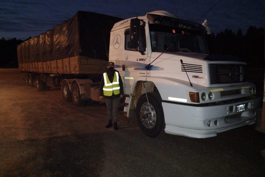 Gendarmería Nacional incautó 142 toneladas de soja en Corrientes