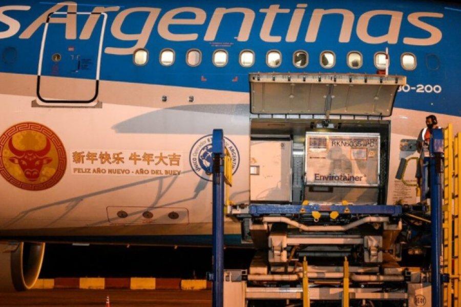 Argentina recibirá casi 4 millones de vacunas anti covid en los próximos días