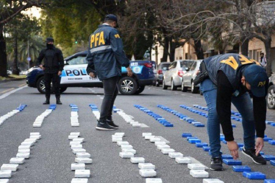 Detienen con 400 kilos de cocaína pura a miembros de una banda de Santa Fe